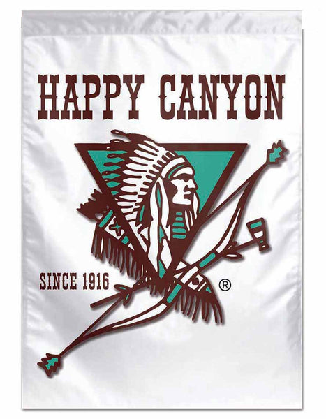 Happy Canyon Vertical Flag