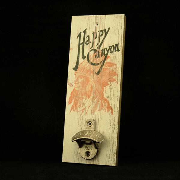 Happy Canyon Wooden Bottle Opener