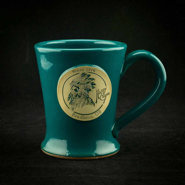 Happy Canyon Teal Magnolia Mug