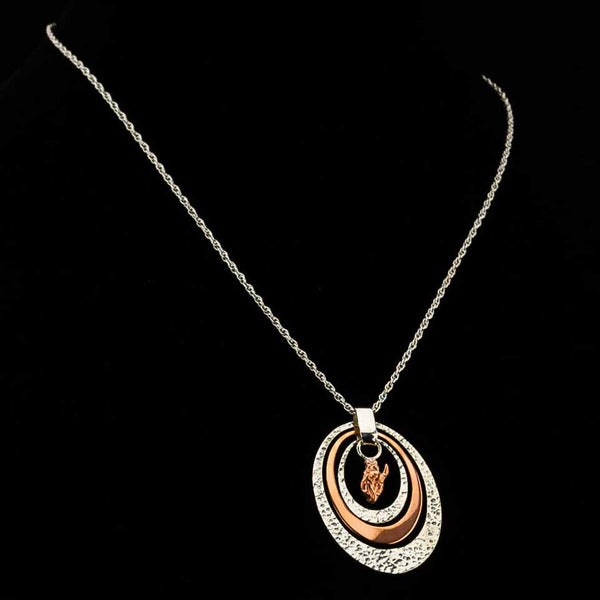Pendleton Round-Up Vogt Oval Copper Necklace