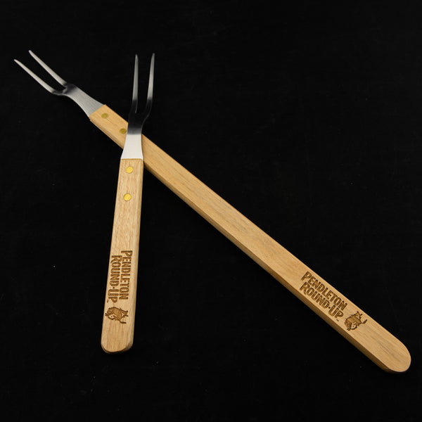 Pendleton Round-Up 2 pc Steak Fork Set
