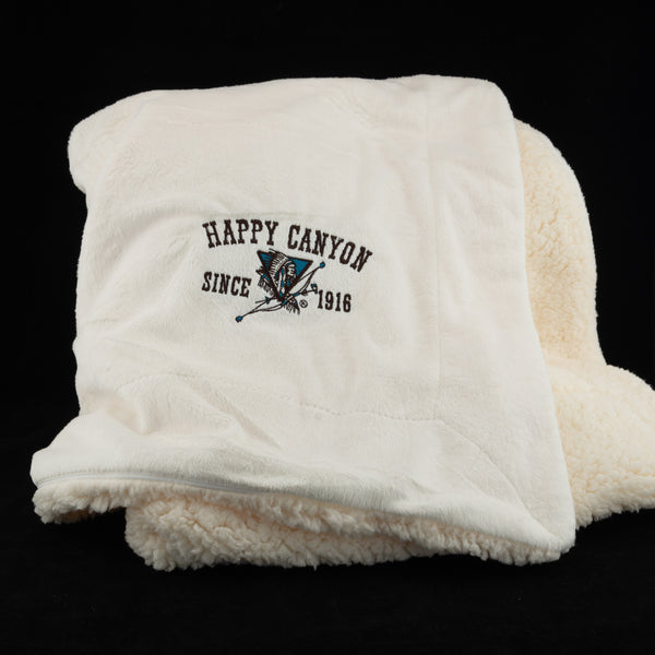 Happy Canyon Sherpa Blanket