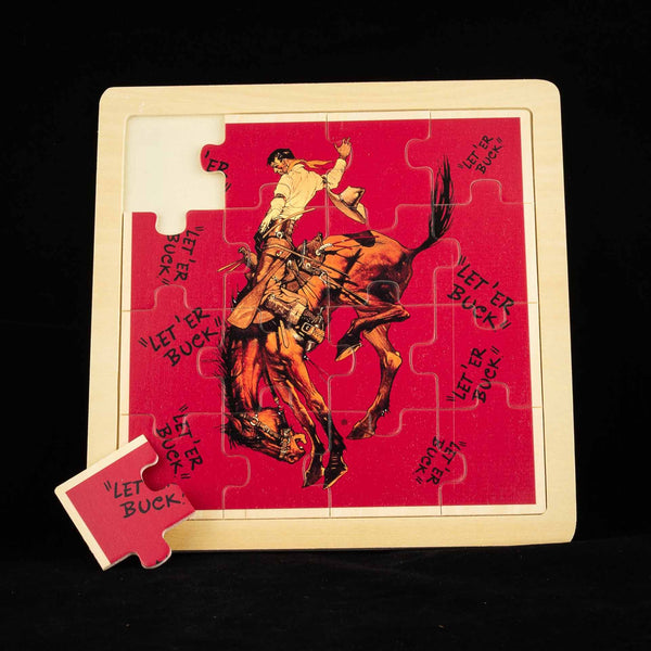 Pendleton Round-Up Wooden Jigsaw Puzzle