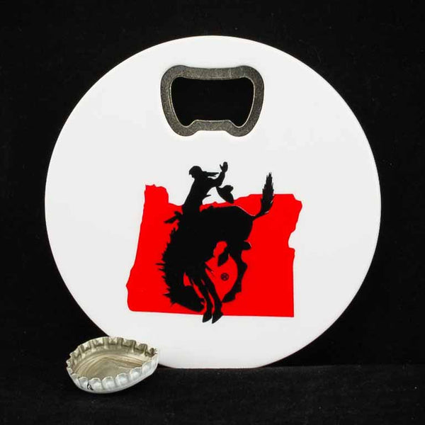 Pendleton Round-Up Coaster w/ Bottle Opener