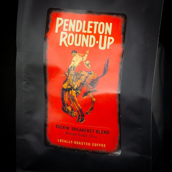 Pendleton Round-Up Buckin' Breakfast Blend Coffee