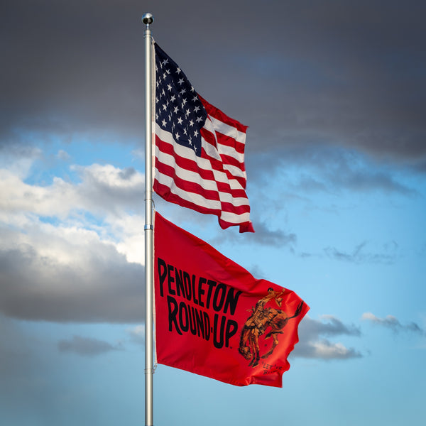 Pendleton Round-Up Full Color Flag