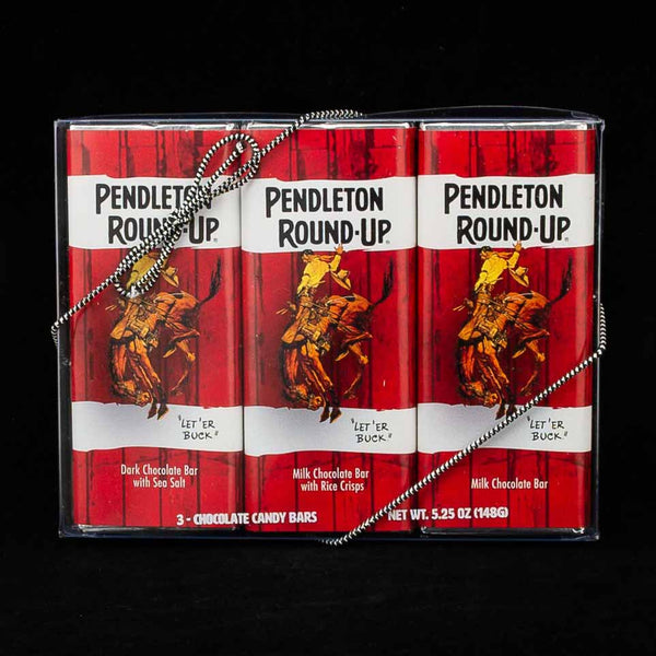 Pendleton Round-Up 3 pc Chocolate Bar Set