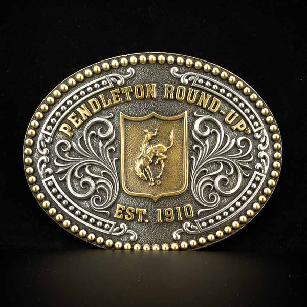 Pendleton Round-Up Undated Back Number Buckle