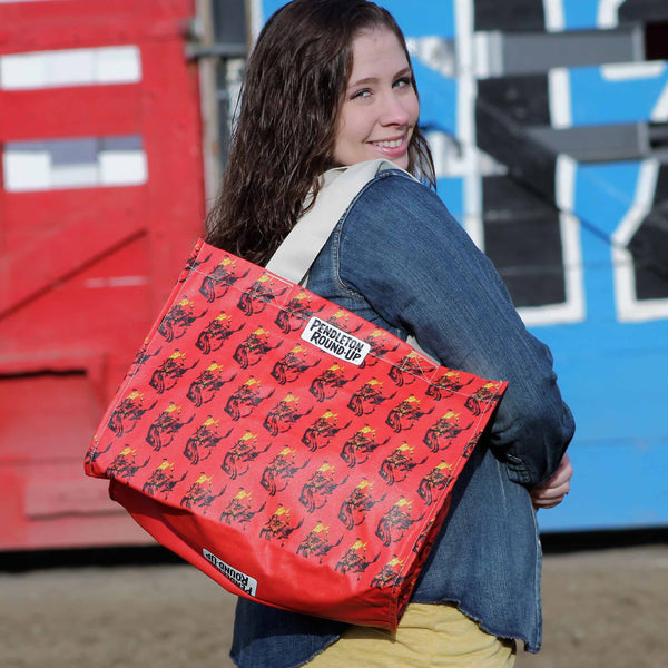 Pendleton Round-Up Wide Tote
