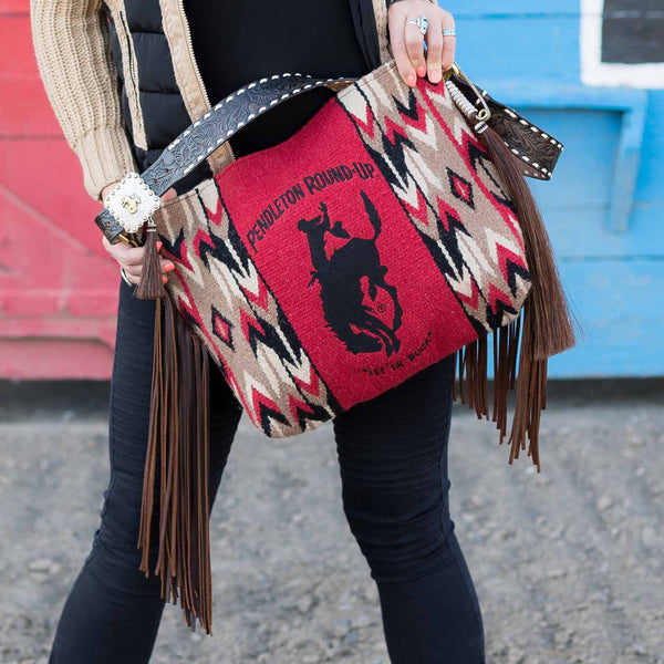 **PRE-ORDER** Pendleton Round-Up Albuquerque Saddle Blanket Tote