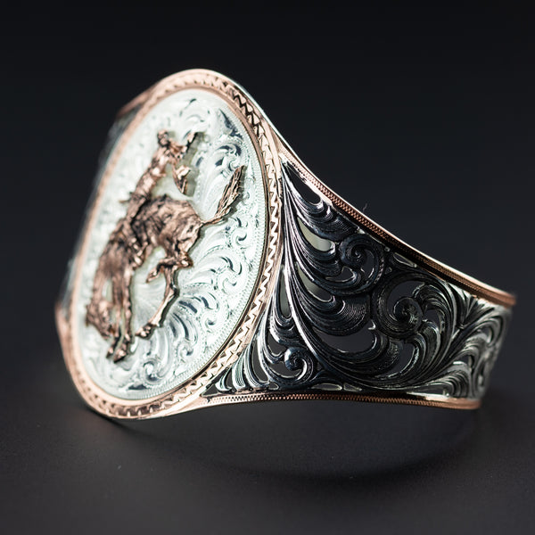 Pendleton Round-Up Montana Silversmiths Rose Gold Cuff