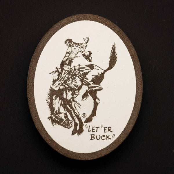 Pendleton Round-Up Wooden Oval Magnet
