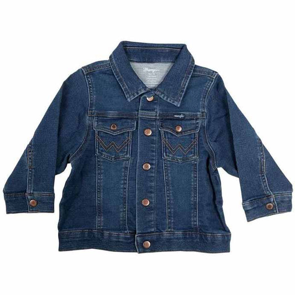 Infant Wrangler Pendleton Round-Up Denim Jacket