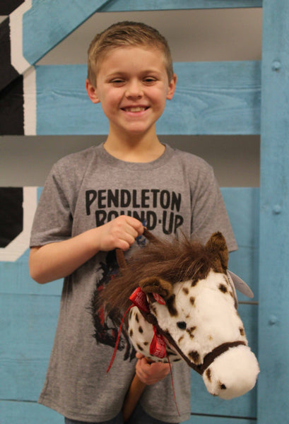 Pendleton Round-Up Giddy Up Stick Pony