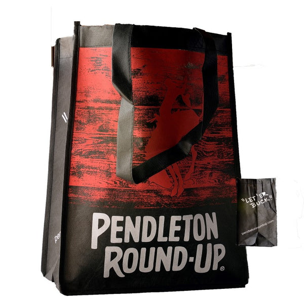 Pendleton Round-Up Reusable Grocery Bag Red