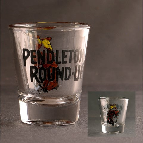 Pendleton Round-Up Full Color Shot Glass