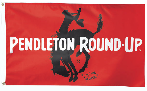 Pendleton Round-Up Flag