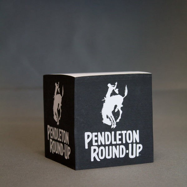 Pendleton Round-Up Sticky Cube Notepad