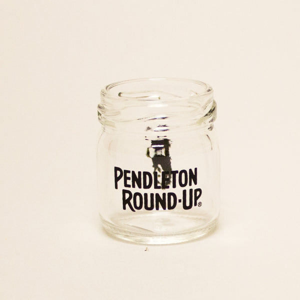 Pendleton Round-Up Mason Jar Shot Glass