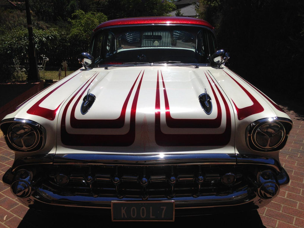 1957 Chevy Bel Air Australia Right Hand Drive Front Grill