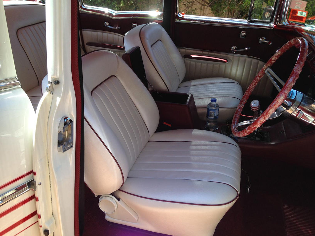 1957 Chevy Bel Air Australia Right Hand Drive Interior Front Bucket Seats