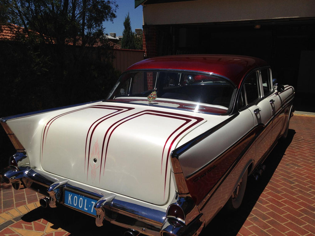 1957 Chevy Bel Air Australia Right Hand Drive Back