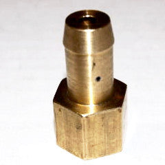 "Brass Check Valve - 1/4"" NPT to 1/2"" Hose Barb - Hardware & Fittings - RetroMotion Innovations - 2"