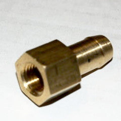 "Brass Check Valve - 1/4"" NPT to 1/2"" Hose Barb - Hardware & Fittings - RetroMotion Innovations - 3"