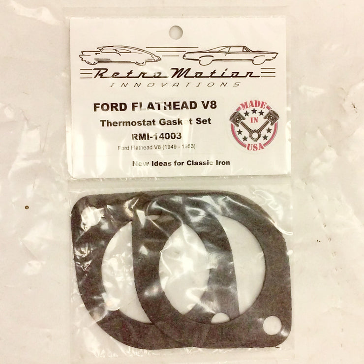 1949-1953 Ford Flathead V8 Thermostat Housing Gasket Set - Gasket - RetroMotion Innovations - 2