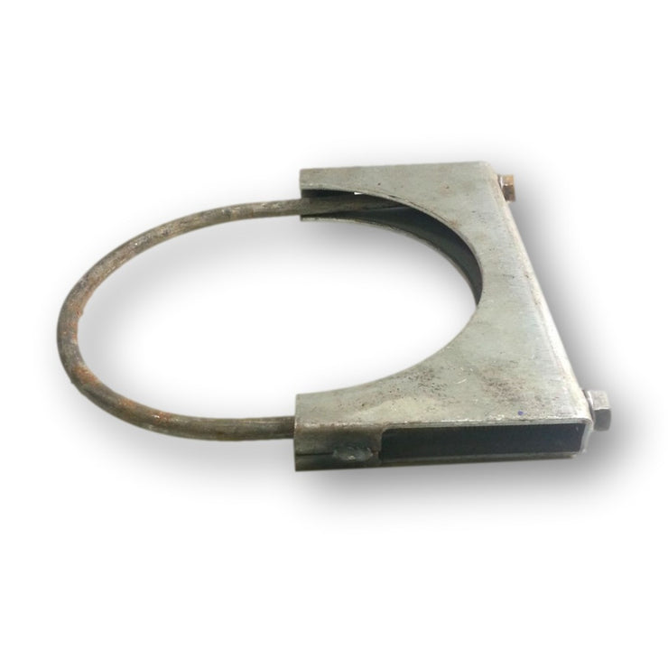 "6"" Welded Saddle Exhaust Clamp - Heavy Duty - Walker 35795 - Exhaust - RetroMotion Innovations"