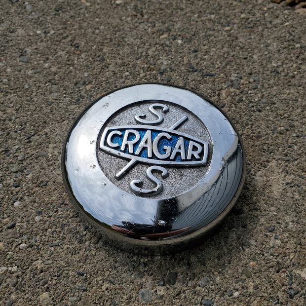 "Cragar SS Chrome Center Cap ""Driver"" Condition (USED)"