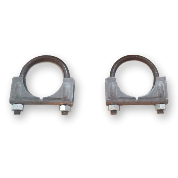 "Set of 2 - 1-3/4"" Muffler Exhaust Clamp - Regular Duty - Walker 35406 - Exhaust - RetroMotion Innovations"