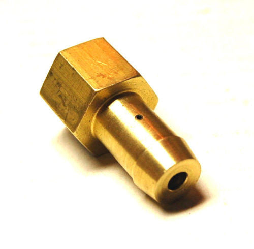 "Brass Check Valve - 1/4"" NPT to 1/2"" Hose Barb - Hardware & Fittings - RetroMotion Innovations - 1"