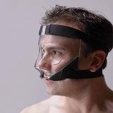 Nose Guard/Face Shield with Extra Grip Padding