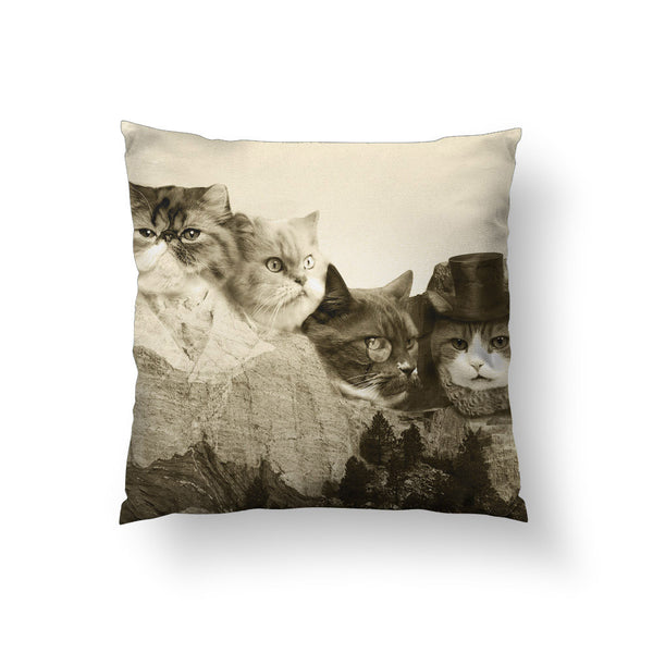 Meowmore Throw Pillow