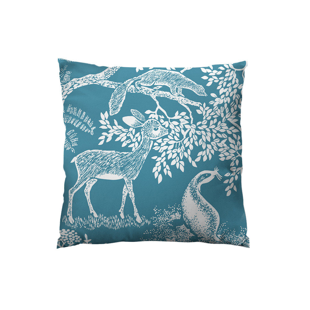 Little Deer Throw Pillow