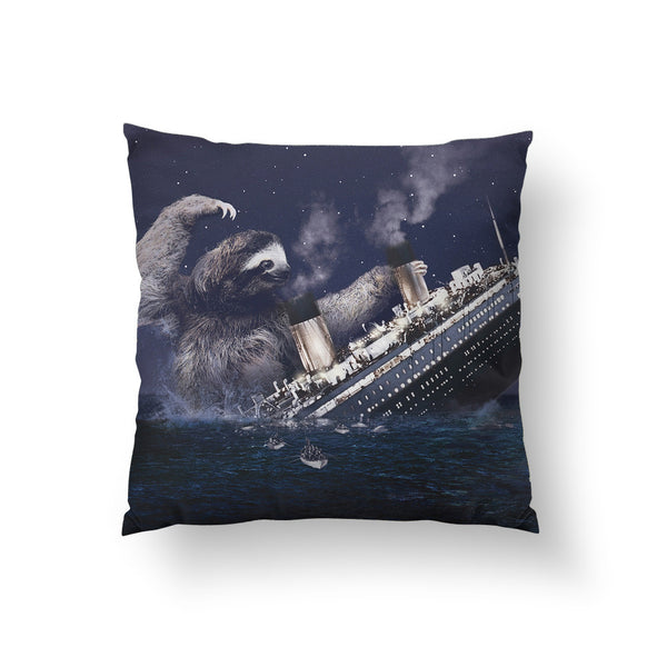 Slothberg Throw Pillow