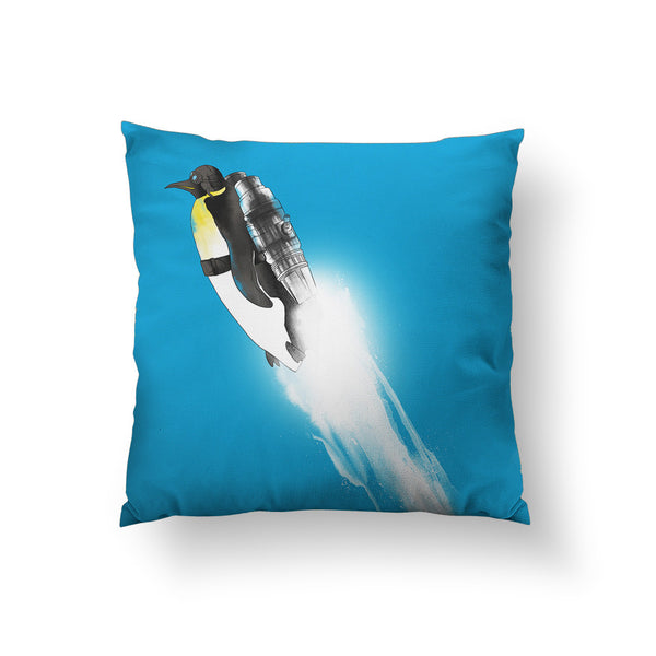 Wingless Migration Throw Pillow