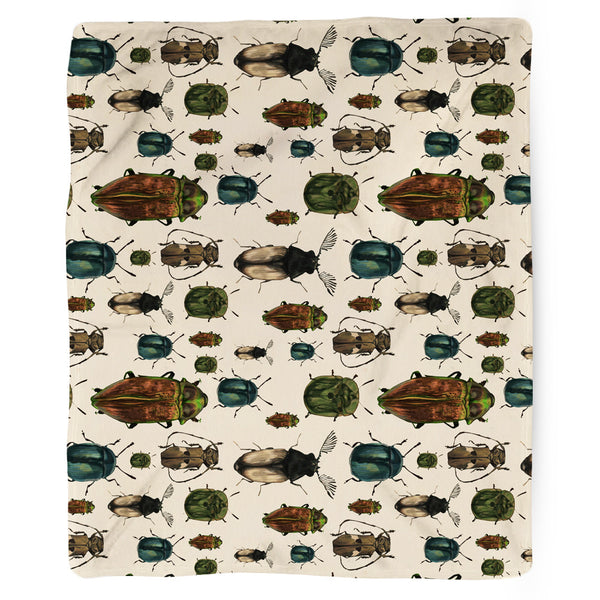 March of The Beetles Blanket