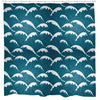 Calm Waves Shower Curtain