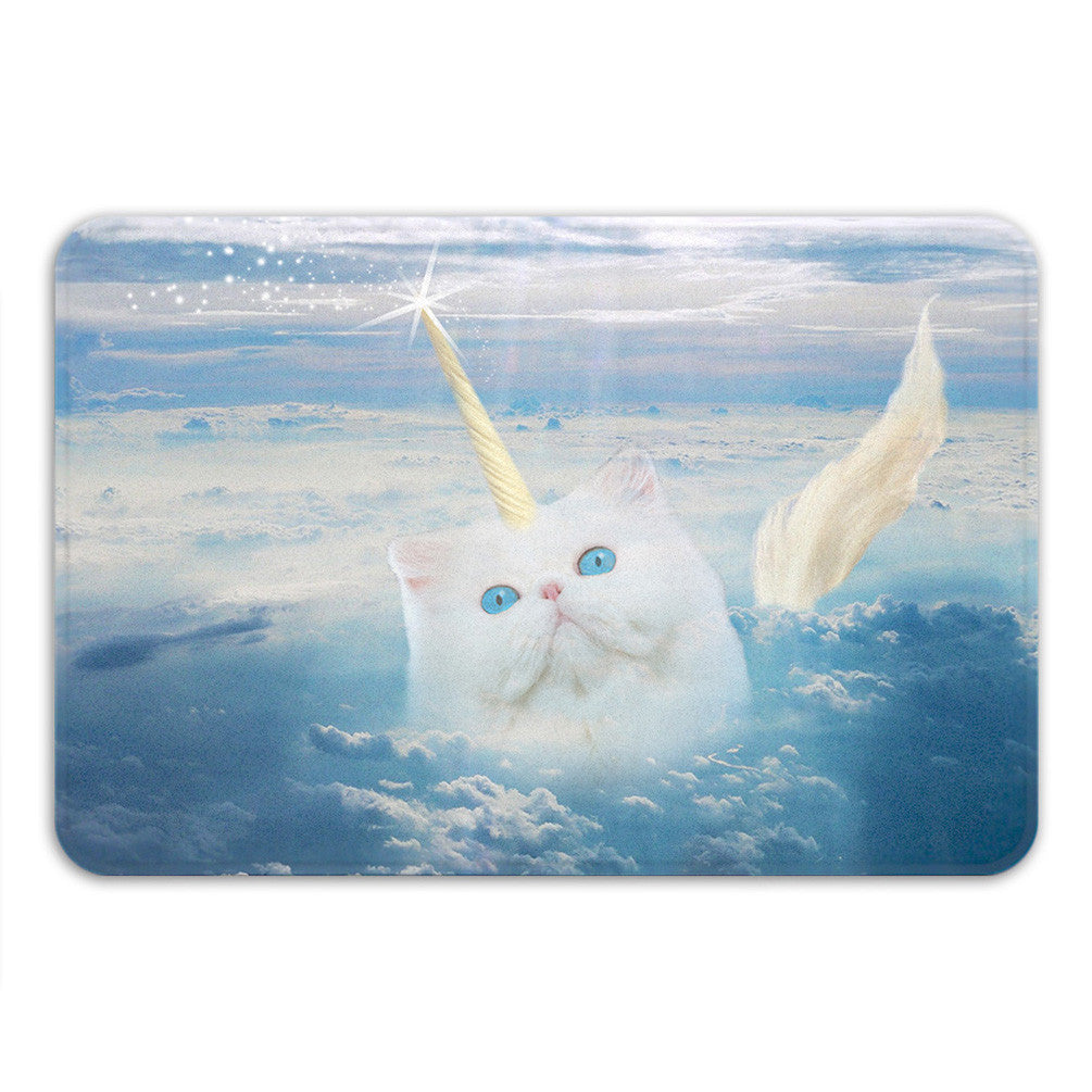 Caticorn Bath Mat