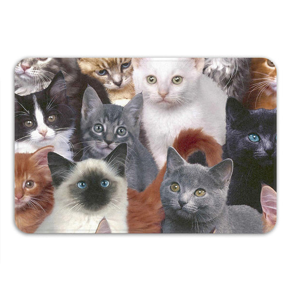 Cats for Days Bath Mat