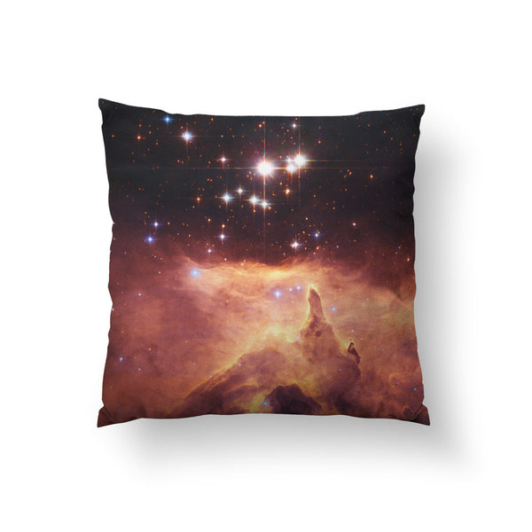 Emission Nebula Throw Pillow