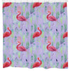 Flamingo Spotting Shower Curtain