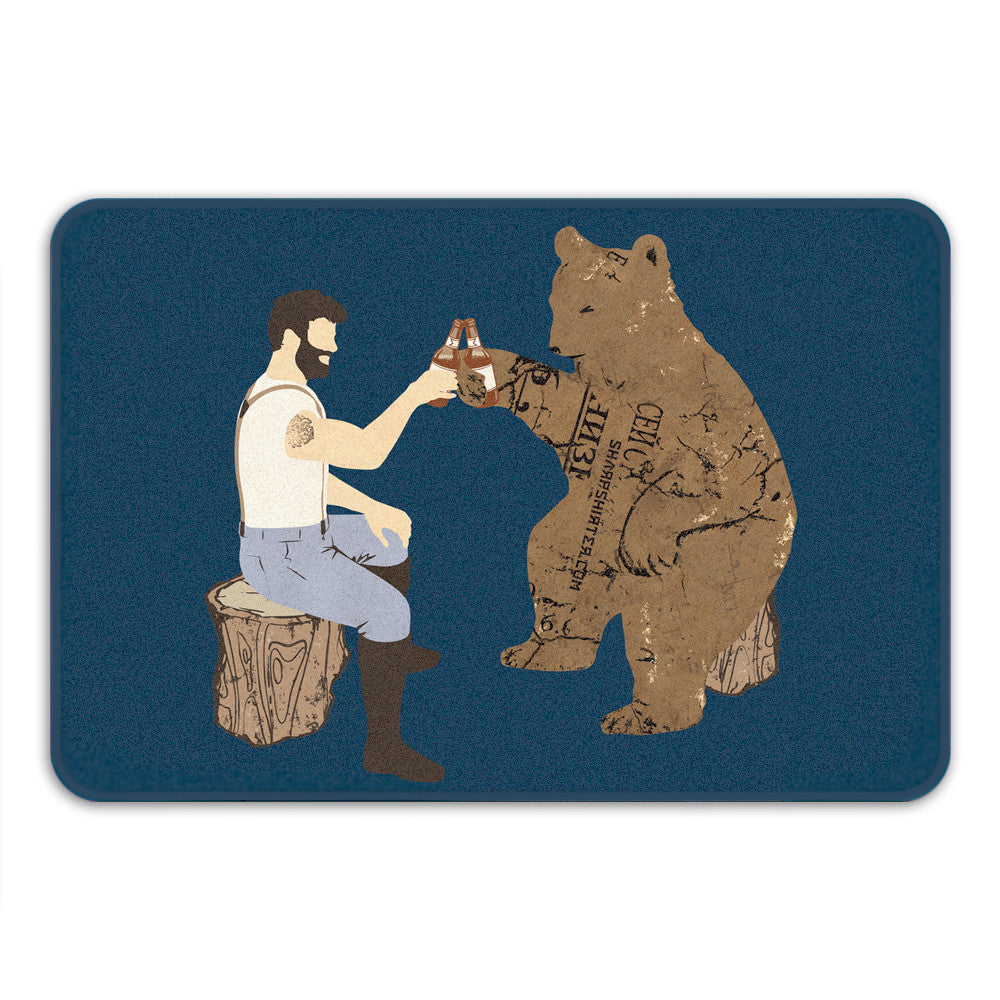 Having a Bear Bath Mat