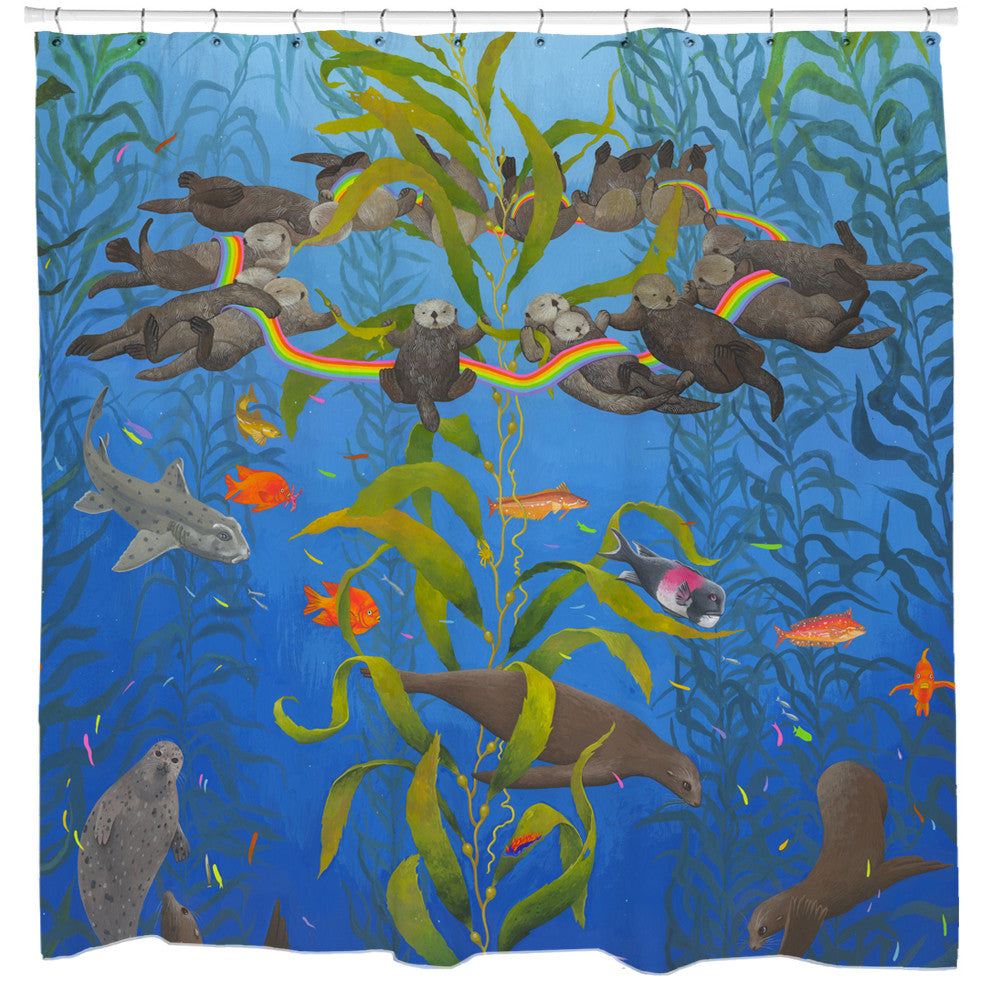 Kelp Magic Shower Curtain