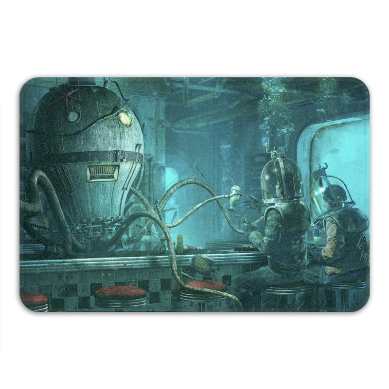 Octopus Diner Bath Mat
