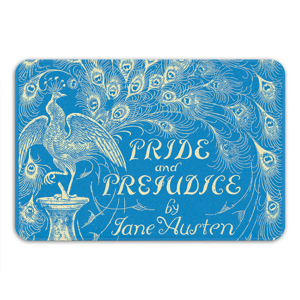 Pride and Prejudice Bath Mat