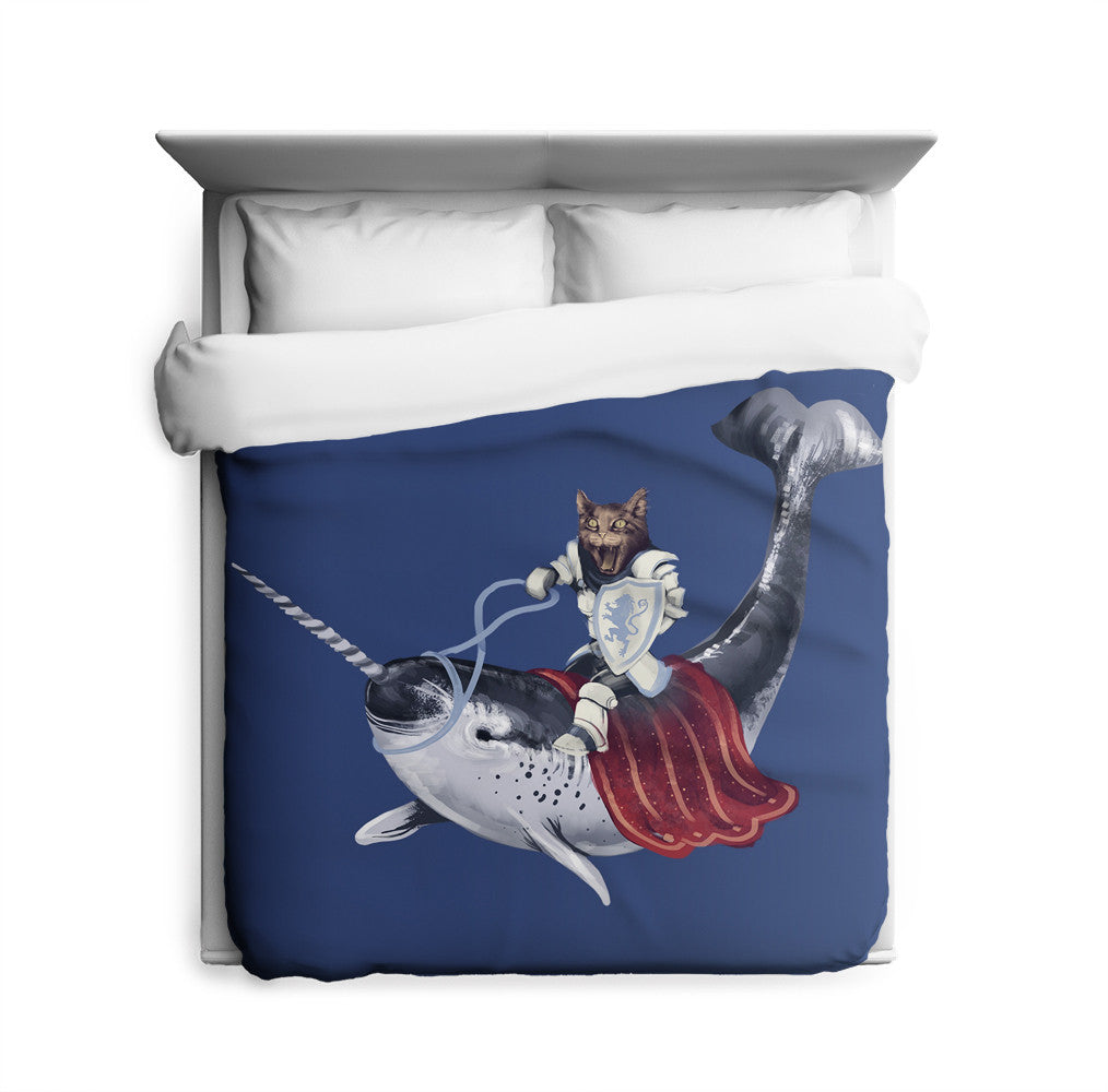 Sir Catspian Duvet Cover