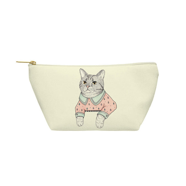 Cat Lady Cat Pouch